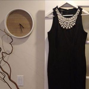 Alfani- Black & Pearl Dress